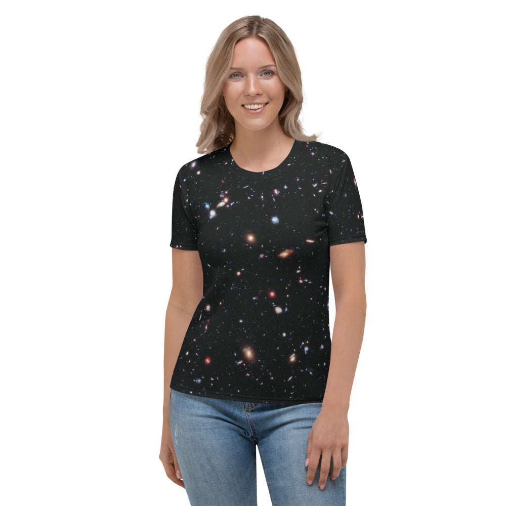 Hubble eXtreme Deep Field Fitted T-Shirt