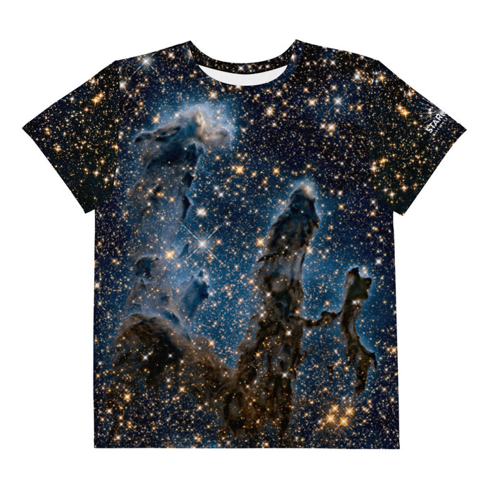 Pillars of Creation in Infrared by Hubble Youth-Teen T-Shirt
