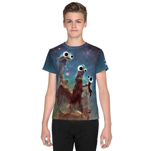 Alien 👀 Pillars Kids T-Shirt (Toddler - Teen)
