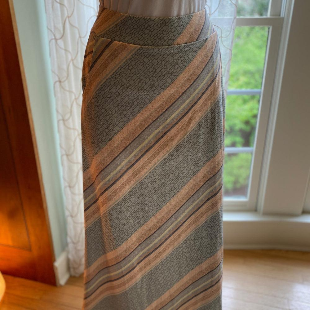 Rock Layers Maxi Skirt