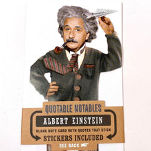 Load image into Gallery viewer, Albert Einstein Notecard