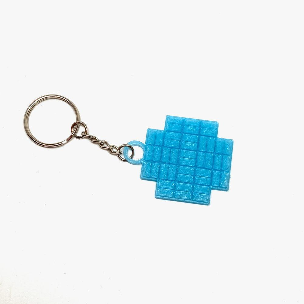 Kepler Field Of View 3D Printed Keychain