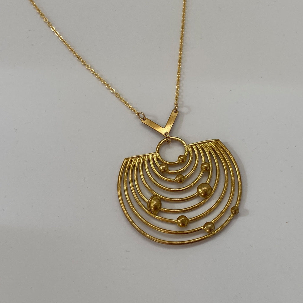 Planetary Orbits Necklace