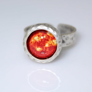 Sun Image Adjustable Ring