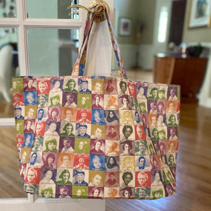 Amazing Women Pioneers Canvas Bag