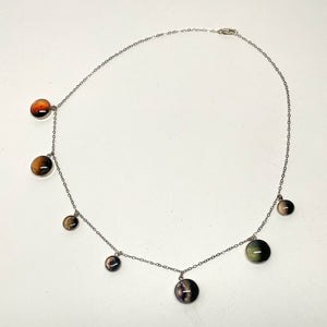 Trappist1 Sterling Silver Necklace