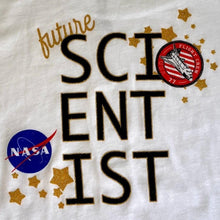 Load image into Gallery viewer, Kids T-shirt Future Scientist