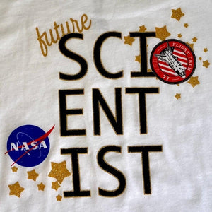 Kids T-shirt Future Scientist