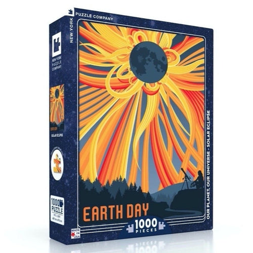 Total Solar Eclipse 1000-Piece Puzzle
