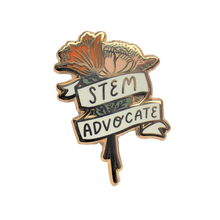 Load image into Gallery viewer, STEM Advocate Enamel Pin