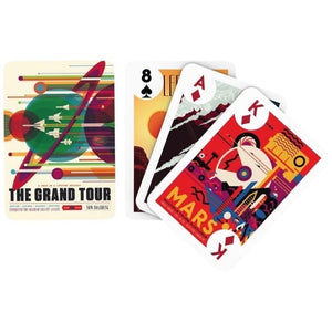 Out of this World JPL Travel Playing Cards