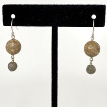 Load image into Gallery viewer, Pluto + Charon Dangle Earrings