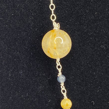 Load image into Gallery viewer, Solar System Sterling Silver Necklace