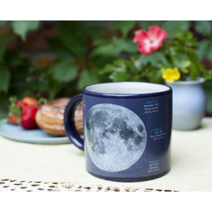Moon Apollo Missions Heat-Changing Mug