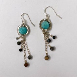 Uranus Dangle Earrings