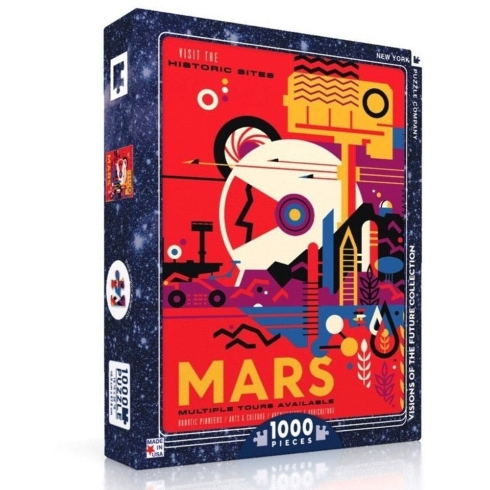 Mars Historic Sites 1000-Piece Puzzle