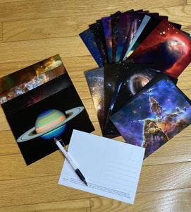 Hubble Images Postcard Set
