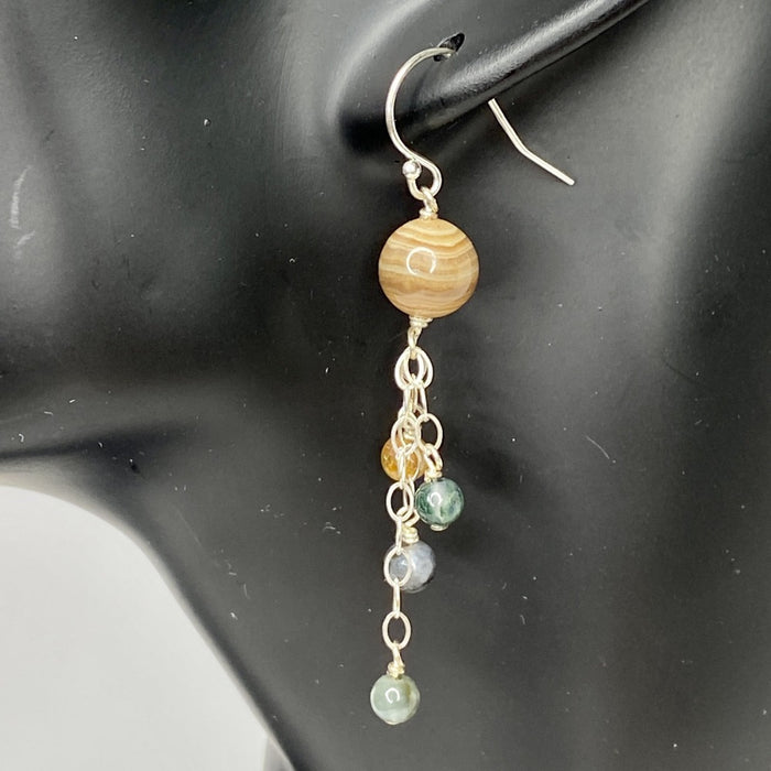 Jupiter Dangle Earrings