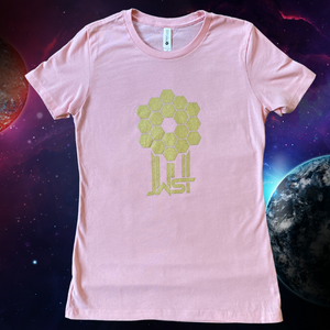 James Webb Space Telescope Mirror Pink T-Shirt