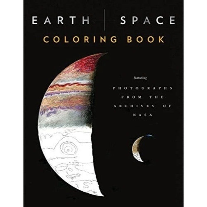 Earth+Space Coloring Book