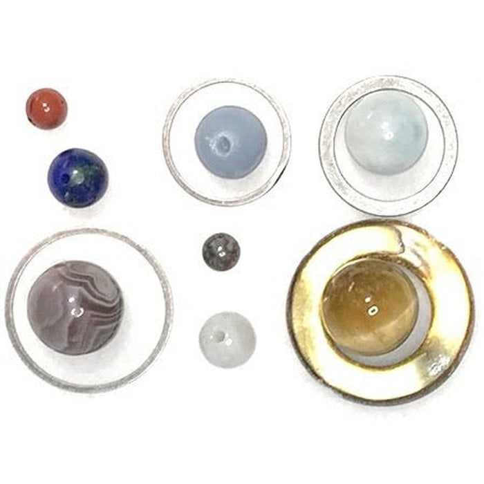 Solar System Planets & Rings Beads - Small