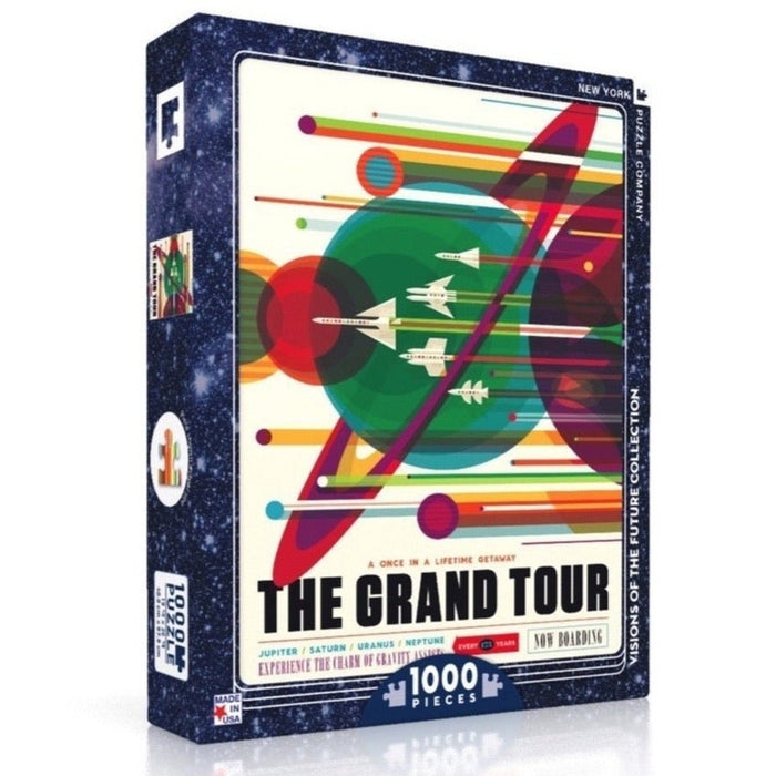 Voyager 2 Grand Tour 1000-Piece Puzzle