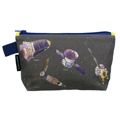 Space Missions Zipper Pouch