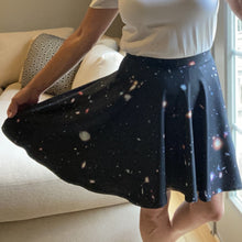 Load image into Gallery viewer, Hubble eXtreme Deep Field Skater Skirt