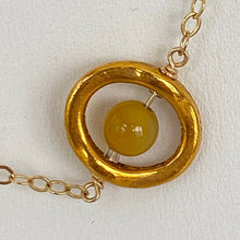 Load image into Gallery viewer, Solar System Gold-Plated Necklace