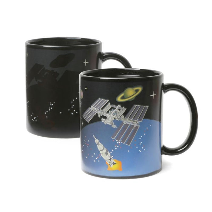 Space Exploration Morph Mug