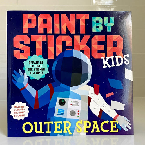 Outer Space Paint By Sticker Book