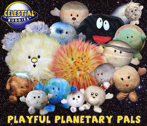 Pluto + Charon Plush Toy