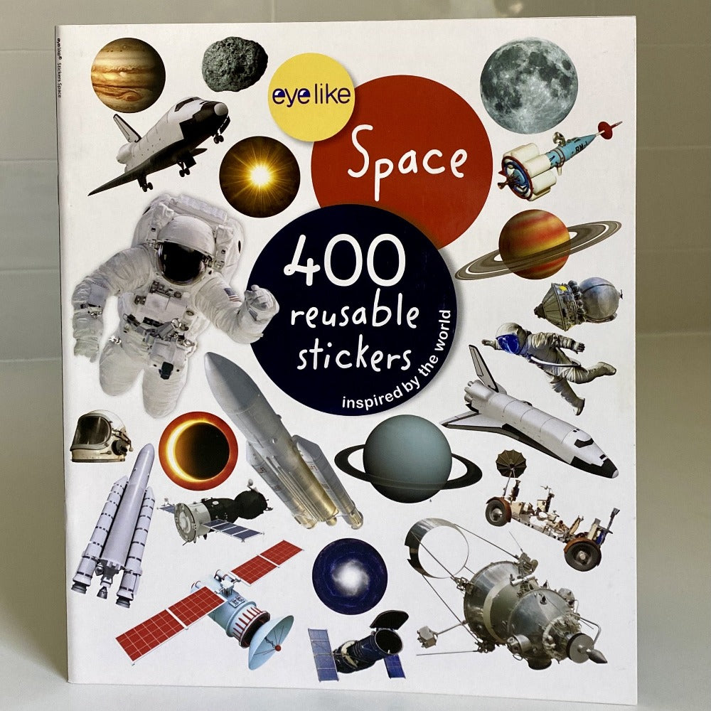 Eye Like Space Reusable Sticker Book