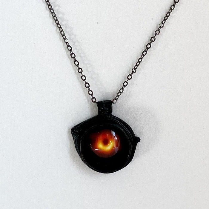 Black Hole Shadow Necklace