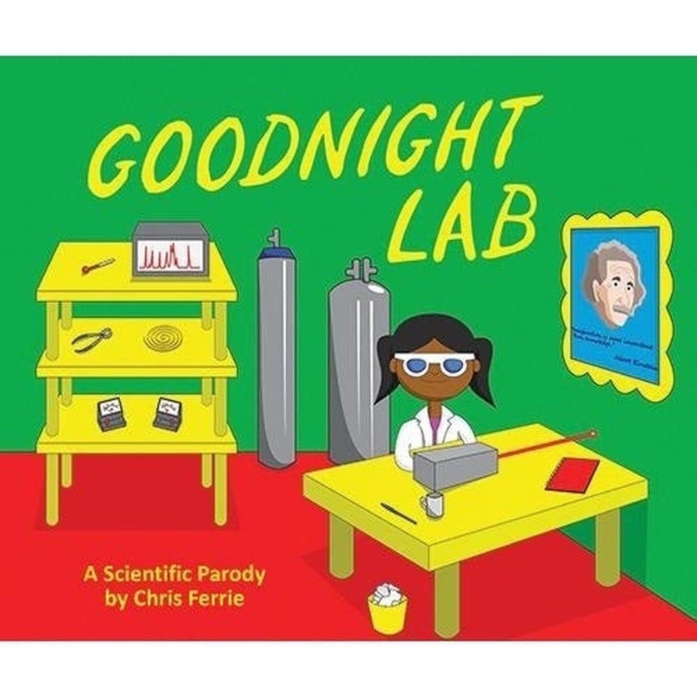Goodnight Lab Kids Book