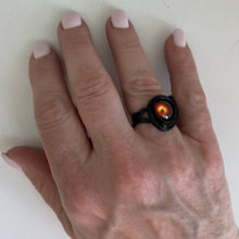 Load image into Gallery viewer, Black Hole Shadow Adjustable Ring