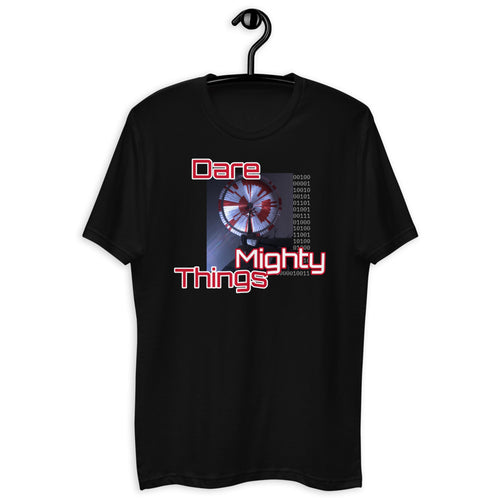 Dare Mighty Things Mars 2020 Parachute T-Shirt
