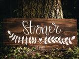 Hand Lettered Sign