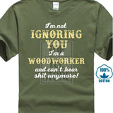 """I'M Not Ignoring You""  Mens Tee shirt"