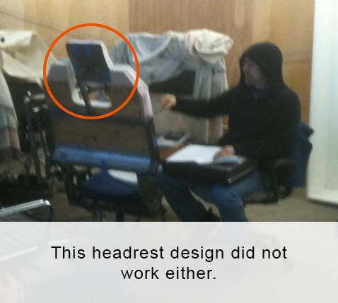 You can see Emperor Palpatine was on our engineering team back then.