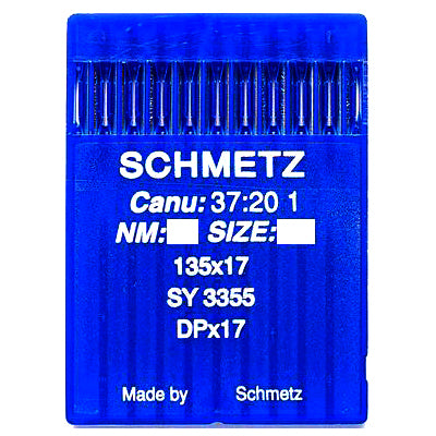 Schmetz Walking Foot Machine Needles. 135x17 SY3355 DPx17