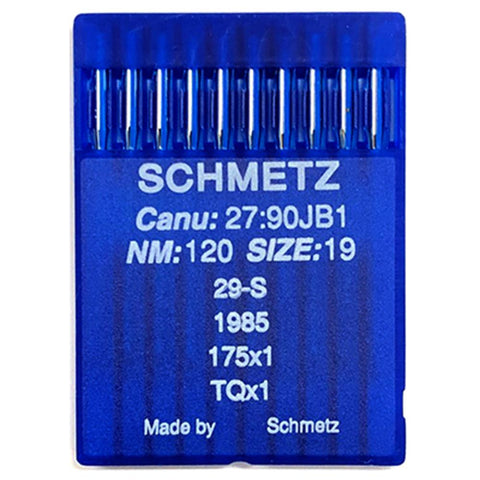 Schmetz Button Sewing Machine Needles. 29S 1985 175x1 TQx1