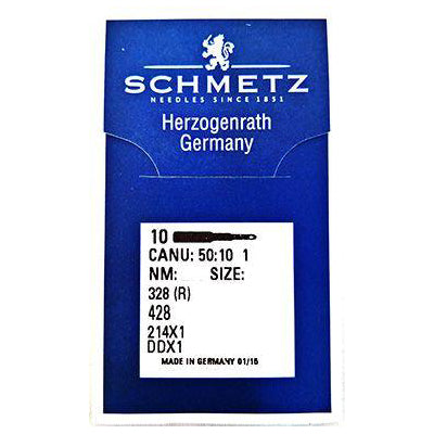 Schmetz Walking Foot Needles. 328R, 428, 214x1 ,DDx1.