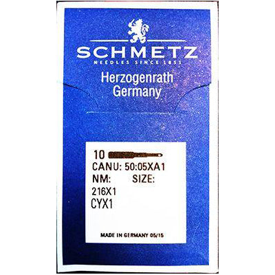 Schmetz Walking Foot Needles. 216x1, CYx1 ,SY5011.