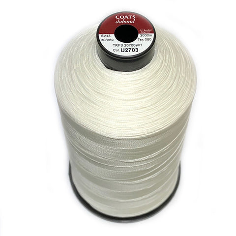 Coats Dabond 30 / V69 Bonded Polyester Thread. Ticket: 30, 3000m.