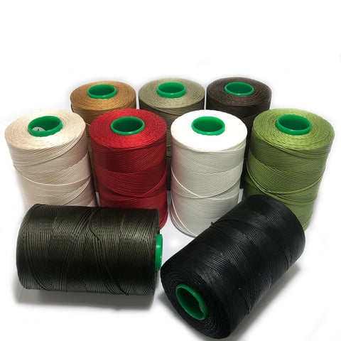 Amann Serabraid Waxed Braided Cord Polyester Threads
