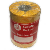 Coats Barbour Linen Machine Thread. 18/6ply 250g Cones