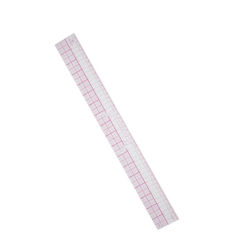 High Quality 45cm/17inch Clear Scale Soft Plastic Straight Ruler