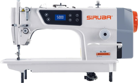 Siruba DL720 Manual Plain Sewing Machine. Direct Drive