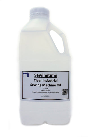 Clear Sewing Machine Oil